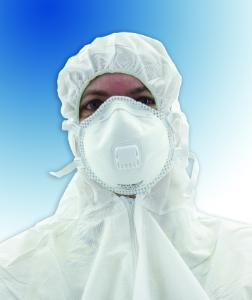 Disposable particle filtering respirators, FFP2