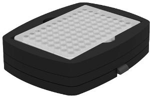 Microplate attachment for 1×96 well plate (with base)