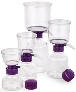 Bottle-top vacuum filtration systems, PES