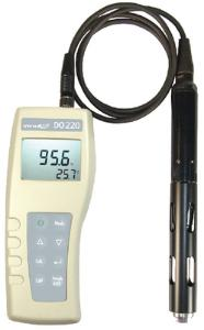 Dissolved oxygen meters, handheld, with optical sensor, DO 220/DO 220 M