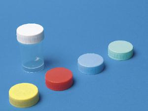 Containers with cap for biopsy probes, Q Path®