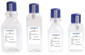 Water sampling bottles, sterile