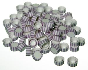 Microcentrifuge tubes with screw caps, SuperClear