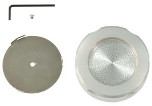 Set for 90 mm Petri dishes, includes holder and cover